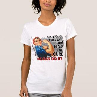Rosie Keep Calm Brain Tumor.png T-shirts
