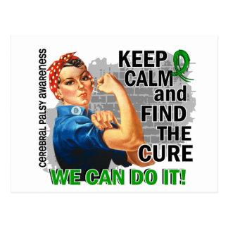 Rosie Keep Calm Cerebral Palsy.png Postcard