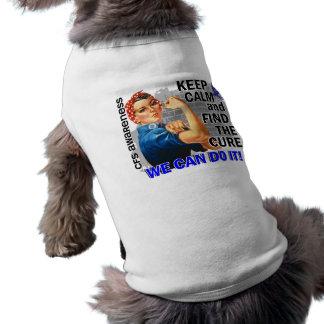 Rosie Keep Calm CFS.png Dog Shirt