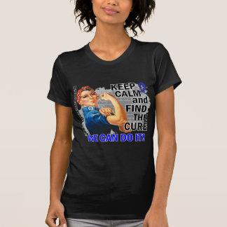 Rosie Keep Calm CFS.png T-Shirt