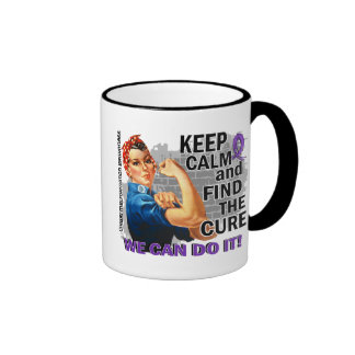 Rosie Keep Calm Chiari.png Coffee Mugs