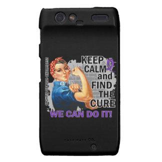 Rosie Keep Calm Crohn s png Droid RAZR Cover