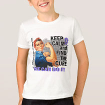 Rosie Keep Calm Esophageal Cancer.png T-Shirt