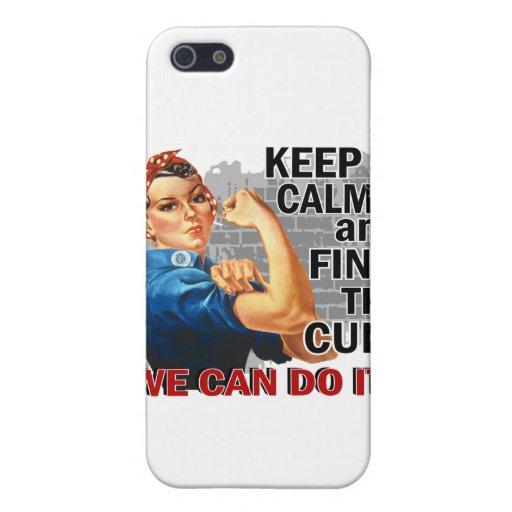 Rosie Keep Calm J Diabetes.png iPhone 5/5S Cover