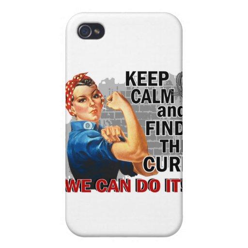 Rosie Keep Calm J Diabetes.png iPhone 4 Cases