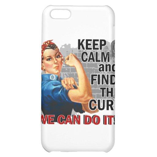 Rosie Keep Calm J Diabetes.png iPhone 5C Cases