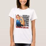 Rosie Keep Calm J Diabetes.png T-Shirt