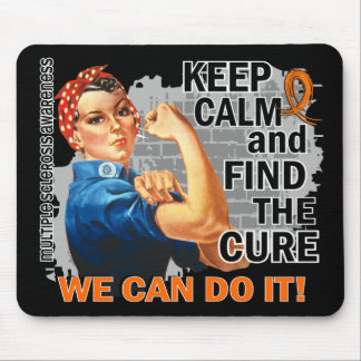 Rosie Keep Calm Multiple Sclerosis.png Mouse Pad