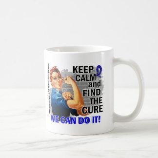 Rosie Keep Calm Rheumatoid Arthritis.png Classic White Coffee Mug