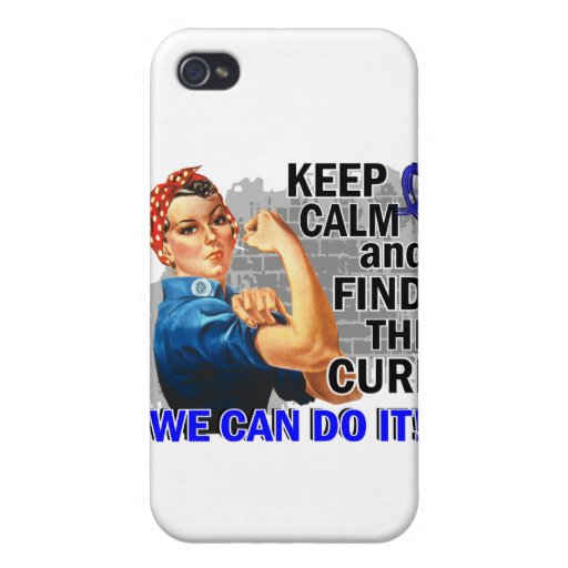Rosie Keep Calm Rheumatoid Arthritis.png iPhone 4 Cover