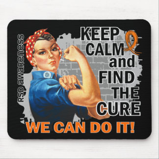 Rosie Keep Calm RSD.png Mouse Pad