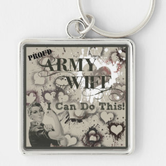 Rosie Key Chain Army Wife