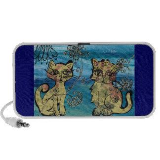 Rosie Kittens Notebook Speakers