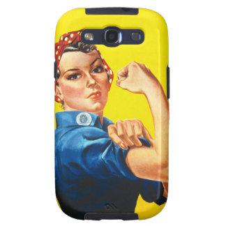 Rosie la caja de la galaxia de Samsung del remacha Samsung Galaxy S3 Protectores