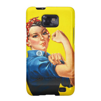 Rosie la caja de la galaxia de Samsung del remacha Galaxy SII Funda