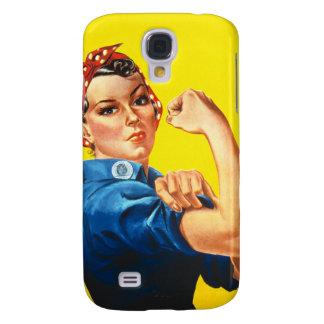 Rosie la caja de la galaxia de Samsung del remacha Funda Para Galaxy S4