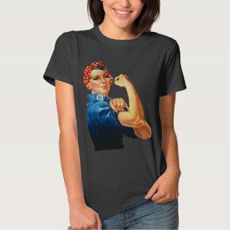 Rosie la camiseta del feminismo del vintage del polera