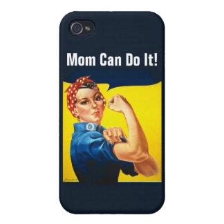 ¡Rosie la mamá del ~ del remachador puede hacerlo! iPhone 4/4S Funda