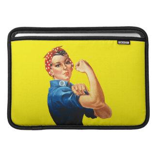 Rosie la manga de aire de Macbook del remachador Funda Para Macbook Air