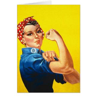 Rosie la tarjeta del remachador