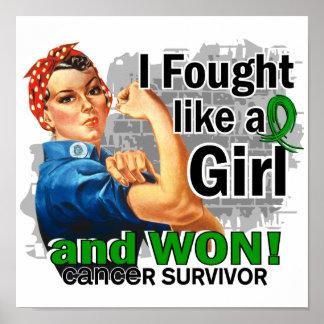 Rosie luchó al cáncer hepático ganado Survivor png Poster