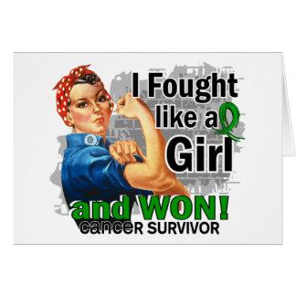 Rosie luchó al cáncer hepático ganado Survivor png Felicitaciones