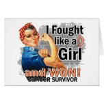 Rosie luchó al cáncer uterino ganado Survivor.png Tarjetón