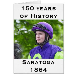 Rosie Napravnik at Saratoga Card