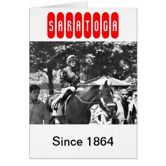 "Rosie Napravnik  ""Leading Female Rider"" Card"