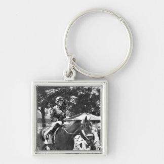 """Rosie Napravnik  """"Leading Female Rider"""" Keychain"""