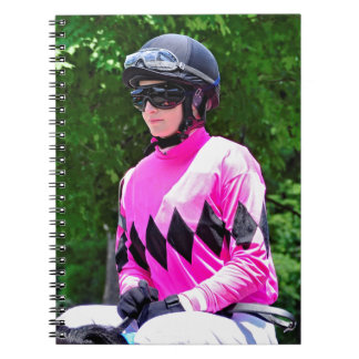 "Rosie Napravnik  ""Leading Female Rider"" Notebook"