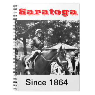 "Rosie Napravnik  ""Leading Female Rider"" Spiral Notebook"