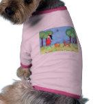 """""""Rosie"""" que camina con la camiseta del perrito de  Camisetas Mascota"""