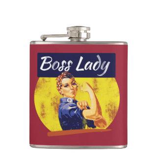 Rosie Riveter Boss Lady Hip Flasks