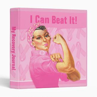 Rosie Riveter Custom Cancer Binder