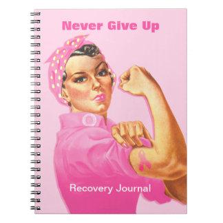 Rosie Riveter Custom Cancer Notebooks