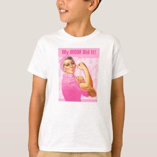 Rosie Riveter Custom Cancer T-Shirt