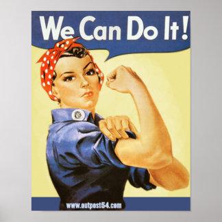 Rosie Riveter Poster