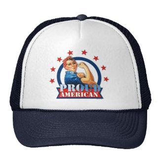 Rosie Riveter Proud American Hat