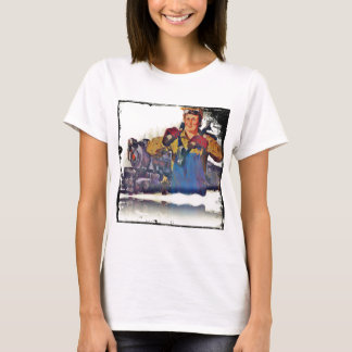 Rosie Riveter Works on the Rail Road WWII T-Shirt