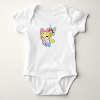 """""""Rosie & Rockette"""", Baby Jersey Bodysuit"""