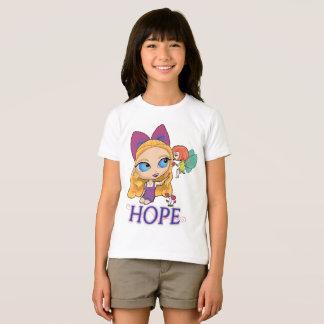 "Rosie & Rockette ""HOPE"" Girl's T-shirt"