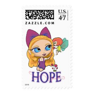 "Rosie & Rockette ""HOPE"" Postage Stamps"