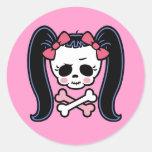 Rosie Roger Round Stickers