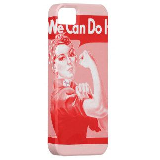 """Rosie rosado el remachador """"podemos hacerlo!"""" iPhone 5 carcasas"""