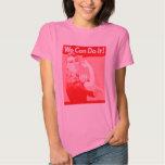 """Rosie rosado el remachador """"podemos hacerlo!"""" playeras"""
