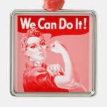 """Rosie rosado el remachador """"podemos hacerlo!"""" Post Ornamente De Reyes"""