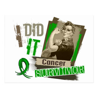 Rosie Sepia I Did It Bile Duct Cancer.png Postcard