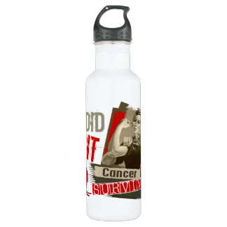 Rosie Sepia I Did It Blood Cancer.png 24oz Water Bottle