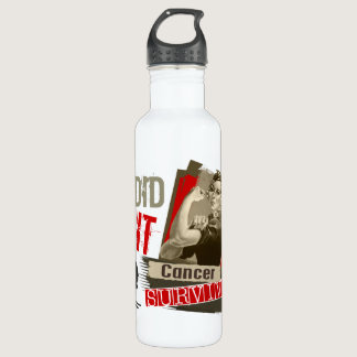 Rosie Sepia I Did It Melanoma.png Stainless Steel Water Bottle